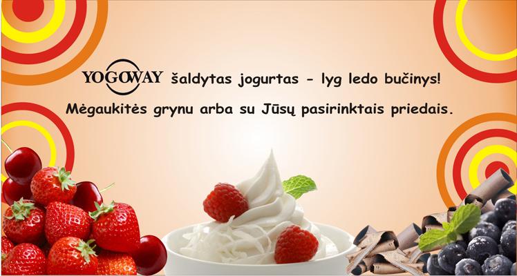 šaldytas jogurtas